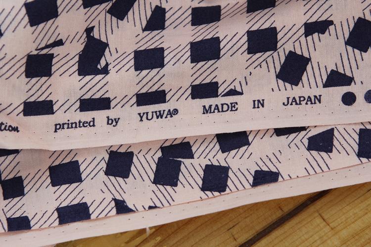 拼布diy 日本YUWA进口名师布料 冈本洋子 疯狂的格子